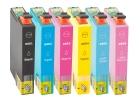 6 Alternativ Epson Patronen T0801 T0802 T0803 T0804 T0805 T0806