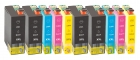 XXL 10x Alternativ Druckerpatronen Epson T1301 T1302 T1303 T1304