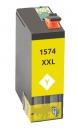 Alternativ Epson Patronen T1574 (Schildkröte) Gelb XL