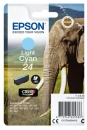 Original Patronen Epson Nr. 24 (Elefant) Light Cyan