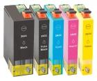 Alternativ Patronen Epson T2636 (Eisbär) XL Mehrfarbig Set