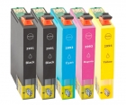 5x Alternativ Epson Patronen 29 XL (Erdbeere) Set
