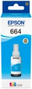 Original Epson Tinte T664 Cyan