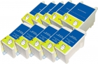 10 Alternativ Epson Patronen T040 T041