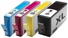 4 kompatible Druckerpatronen HP 364xl mit Chip