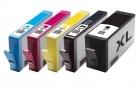 5 kompatible Druckerpatronen HP 364xl mit Chip