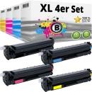 4x Alternativ HP Toner 410X 411X 412X 413X Mehrfarbig