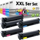 5x Alternativ HP Toner 410X 411X 412X 413X Set