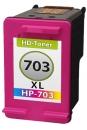 Refill Patrone HP 703 CD888AE C/M/Y