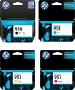 Set 4x Original HP Patronen Nr. 950 + 951