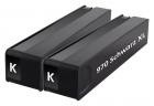 2x Alternativ HP Druckerpatronen NR. 970 XL Schwarz