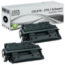 Sparset 2x Alternativ HP Toner C4127X / 27X Schwarz