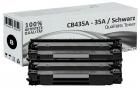 Sparset 2x Alternativ HP Toner CB435A / 35A Schwarz