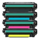 Alternativ Toner Set HP 504A CE250X CE251A CE252A CE253A