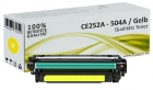 Alternativ HP Toner 504A CE252A Gelb
