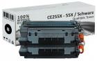 Sparset 2x Alternativ HP Toner CE255X / 55X Schwarz
