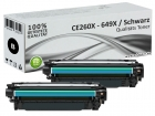 2x Alternativ HP Toner 649X CE260X Schwarz