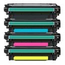 Alternativ Toner Set HP 646X+646A CE264X+CF031A+CF032A+CF033A