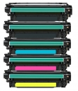 Alternativ Toner HP 650A CE270A+CE271A+CE272A+CE273A Set