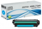 Alternativ HP Toner 650A CE271A Cyan