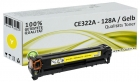 Alternativ Toner HP CE322A 128A Gelb CP1525 CM1415