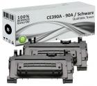 Sparset 2x Alternativ HP 90A Toner CE390A Schwarz