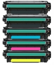 Alternativ Toner HP 507X+507A CE400X CE401A CE402A CE403A Set