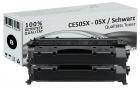 Sparset 2x Alternativ HP Toner CE505X / 05X Schwarz