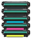 Alternativ HP Toner 307A CE740A CE741A CE742A CE743A Set
