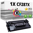 Alternativ HP Toner 87X / CF287X Schwarz