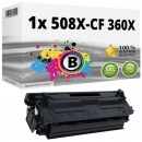 Alternativ HP Toner 508X / CF360X Schwarz