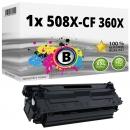 Alternativ HP Toner 508X / CF360X Schwarz