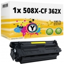 Alternativ HP Toner 508X / CF362X Gelb