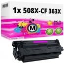 Alternativ HP Toner 508X / CF363X Magenta