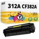 Alternativ Toner HP 312A CF382A Yellow / Gelb