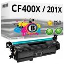 Alternativ HP Toner 201X / CF400X Schwarz