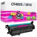 Alternativ HP Toner 201X / CF403X Magenta