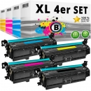 Set Alternativ HP Toner 201X / CF400X CF401X CF402X CF403X