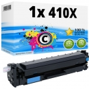Alternativ HP Toner 410X / CF411X Cyan