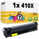 Alternativ HP Toner 410X / CF412X Gelb