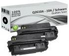 Set 2x XL Alternativ HP Toner Q2610X / 10A Schwarz