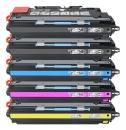 Alternativ HP Toner 308A + 311A / Q2670A + Q268x 5er Sparset
