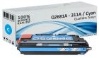 Alternativ HP Toner 311A Q2681A Cyan