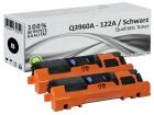 Alternativ HP Toner 122A Q3960A Schwarz Doppelpack