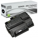 2x Alternativ HP Toner 42X Q5942X Schwarz Set