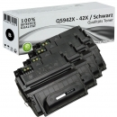4x Alternativ HP Toner 42X Q5942X Schwarz Set