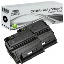 2x Alternativ HP Toner 45A Q5945A Schwarz