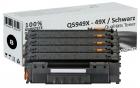 Sparset 4x Alternativ HP Toner Q5949X / 49X Schwarz