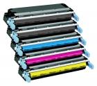 Alternativ HP Toner 644A / Q646x 5er Sparset