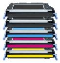 Alternativ HP Toner 501A + 502A / Q6470A + Q647x  5er Sparset